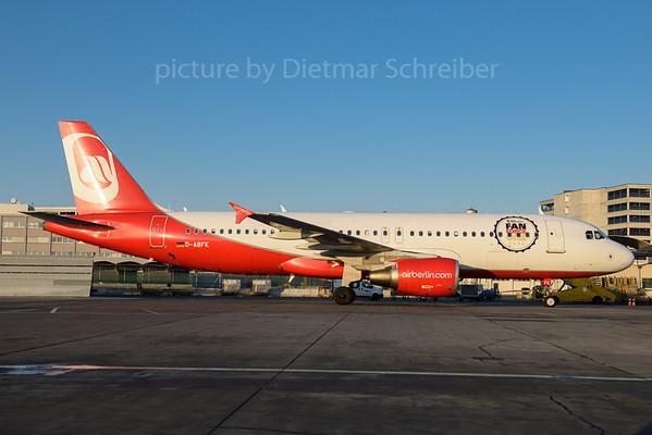 2017-01-22 D-ABFK Airbus A320 Air Berlin