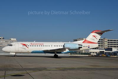 2017-01-22 OE-LFI Fokker 70 Austrian Airlines
