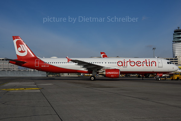 2017-02-20 OE-LCI Airbus A321 Fly Niki / Air Berlin