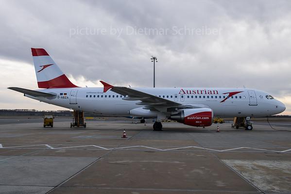 2017-02-27 D-ABZA Airbus A320 Austrian Airlines