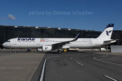 2017-02-25 EP-IFA Airbus A321 Iran Air