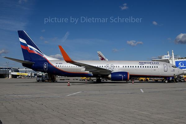 2017-02-25 VP-BGG Boeing 737-800 Aeroflot