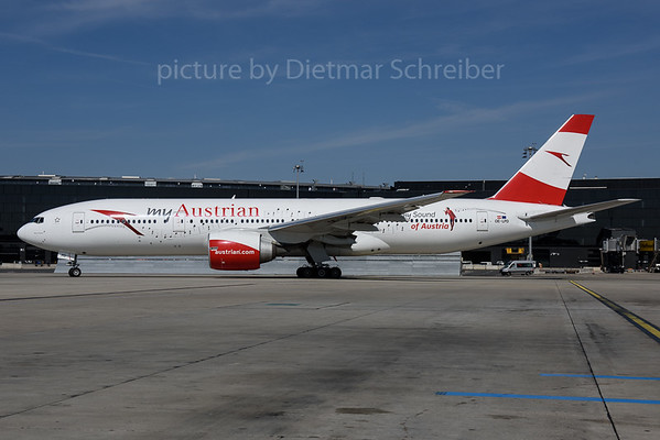 2017-03-31 OE-LPD Boeing 777-200 Austrian Airlines