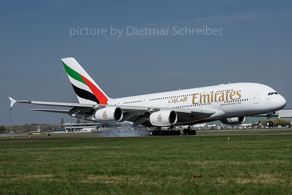 2017-03-31 A6-EDE Airbus A380 Emirates