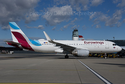 2017-06-30 D-AEWP AIrbus A320 Eurowings