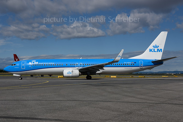 2017-06-30 PH-BXS Boeing 737-900 KLM