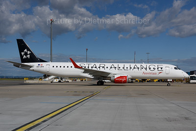 2017-06-30 OE-LWH Embraer 195 Austrian Airlines