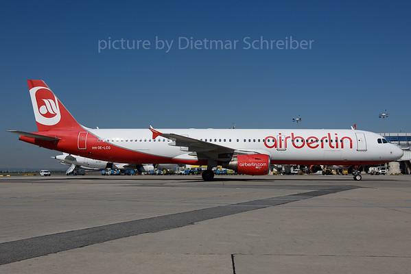 2017-08-29 OE-LCG Airbus A321 Air Berlin / Flyniki