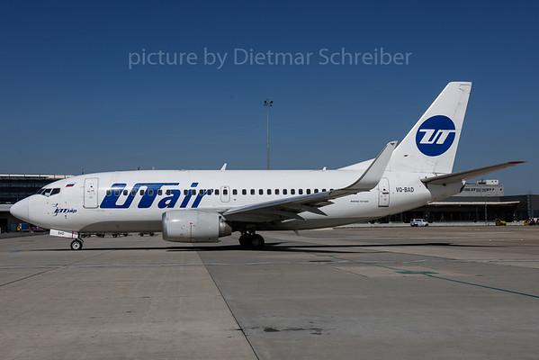2017-08-29 VQ-BAD Boeing 737-500 UT Air