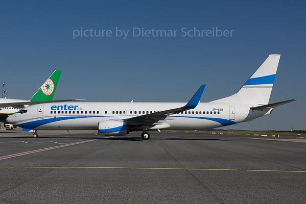 2017-08-23 SP-ESB Boeing 737-800 Enter Air