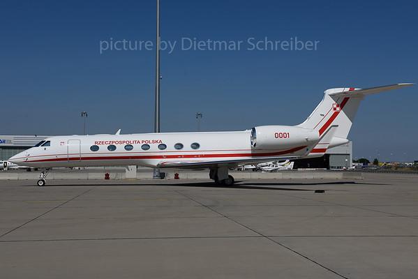 2017-08-29 0001 Gulfstream 650 Polish Air Force