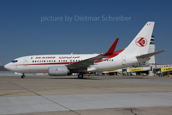 2017-08-23 7T-VKT Boeing 737-700 Air Algerie