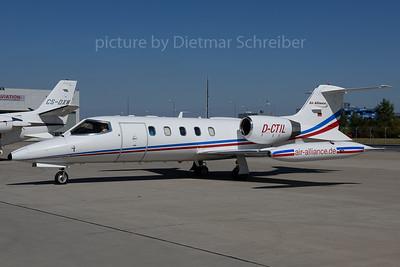 2017-08-29 D-CTIL Learjet 35 Air Alliance