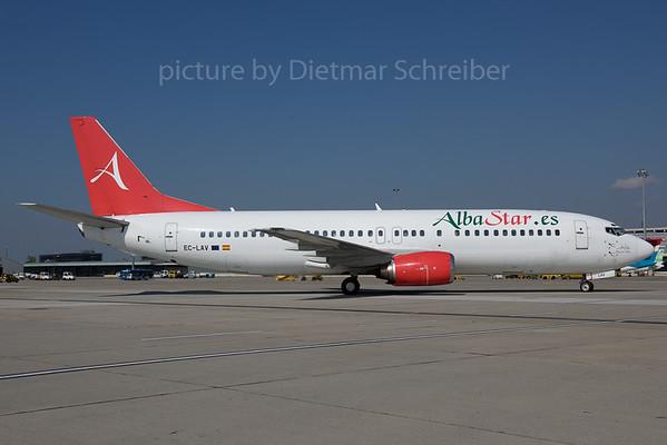 2017-09-29 EC-LAV Boeing 737-400 Alba Star