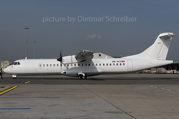 2017-09-27 HB-ACA ATR72 Adria Airways