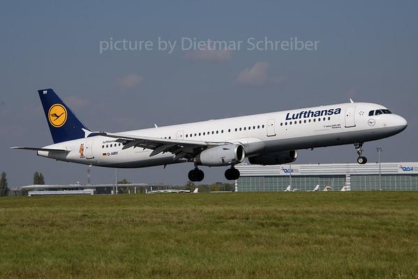 2017-09-29 D-AIRY Airbus A321 Lufthansa