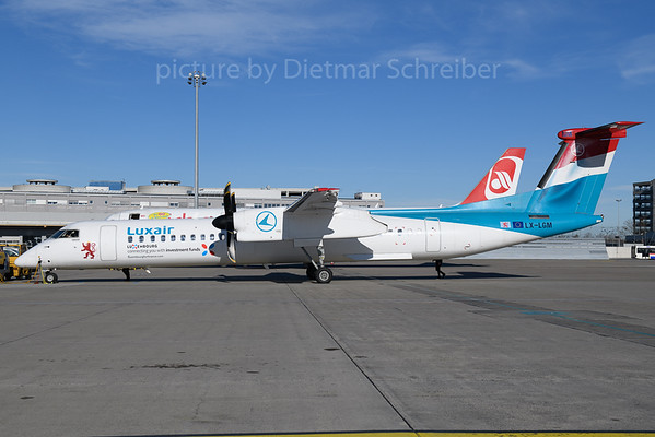 2018-01-29 LX-LGM Dash 8-400 Luxair