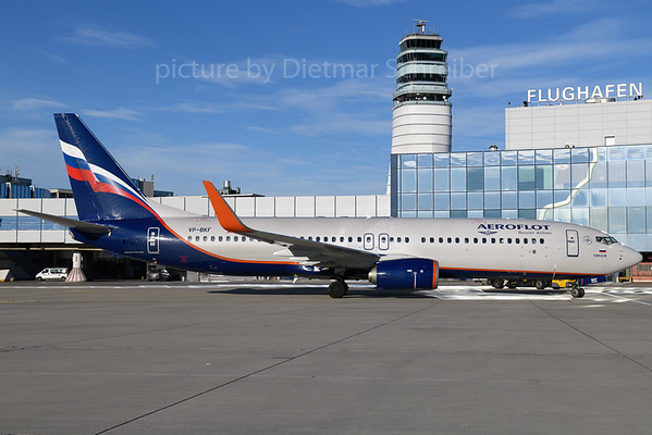 2018-01-29 VP-BKF Boeing 737-800 Aeroflot