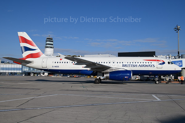 2018-01-31 G-MIDS AIrbus A320 British Airways