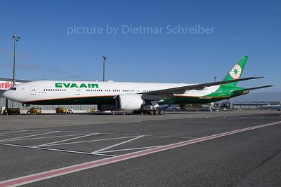 2018-01-31 B-16716 Boeing 777-300 Eva Air