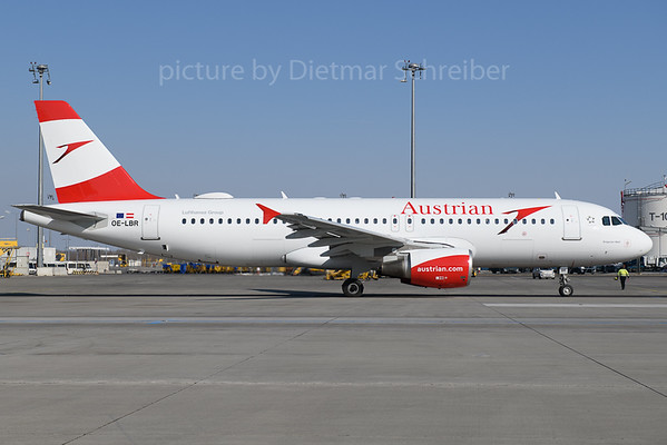 2018-02-24 OE-LBR Airbus A320 Austrian Airlines