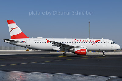 2018-02-24 OE-LBW Airbus A320 Austrian Airlines