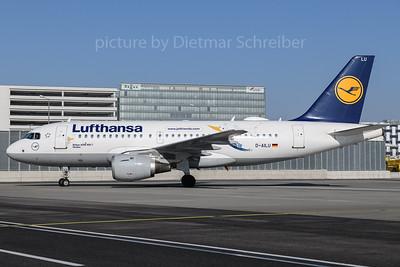 2018-02-24 D-AILU Airbus A319 Lufthansa