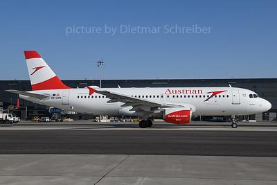 2018-02-24 OE-LBN Airbus A320 Austrian Airlines