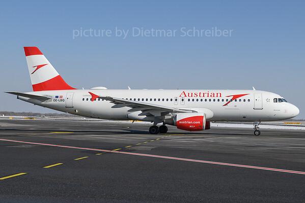 2018-02-24 OE-LBQ Airbus A320 Austrian Airlines