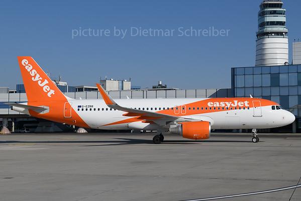 2018-02-24 G-EZRR AIrbus A320 Easyjet