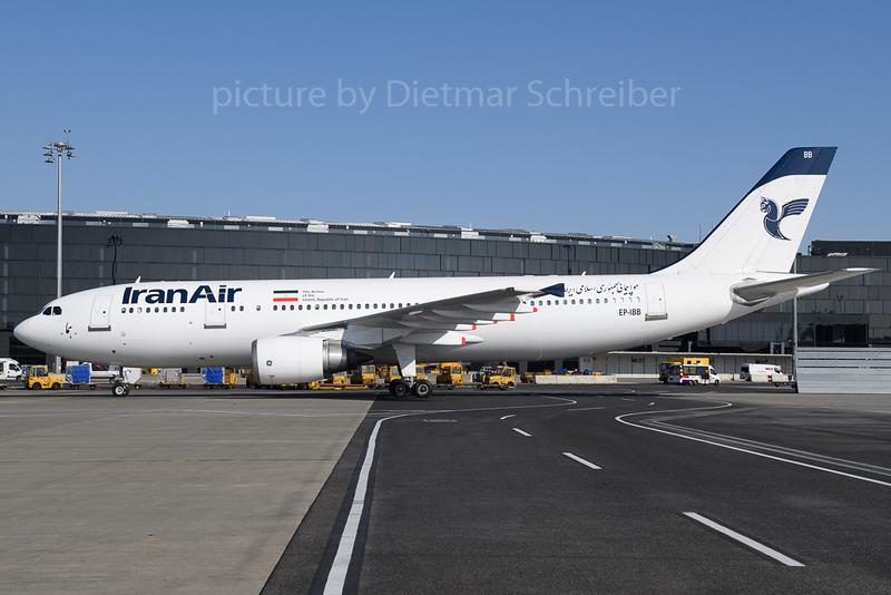 2018-02-24 EP-IBB Airbus A300 Iran AIr