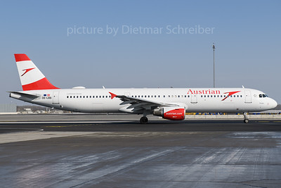 2018-02-24 OE-LBB Airbus A321 Austrian Airlines