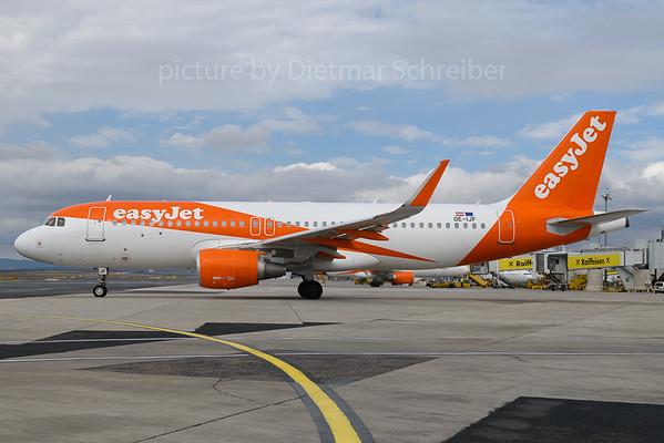 2018-03-30 OE-IJF Airbus A320 Easyjet Europe