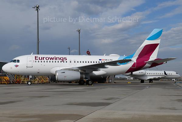 2018-03-30 OE-LYU AIrbus A319 Eurowings