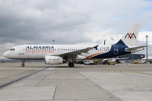 2018-03-30 SU-TCE Airbus A320 Almasria