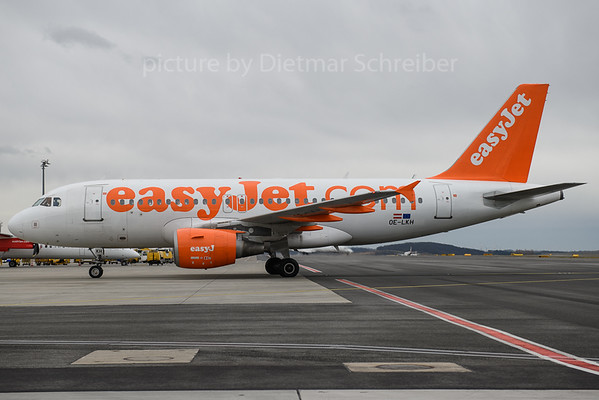 2018-03-29 OE-LKH AIrbus A319 Easyjet Europe