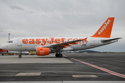 2018-03-29 OE-LKH AIrbus A319 Easyjet Europe