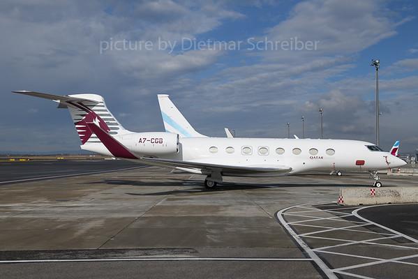 2018-03-30 A7-CGB Gulfstream 650 Qatar Executive