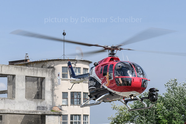 2018-04-30 D-HUDM Bo105 Flying Bulls