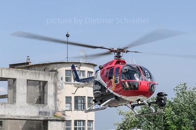 2018-04-30 D-HUDM Bo105 Flying Bulls
