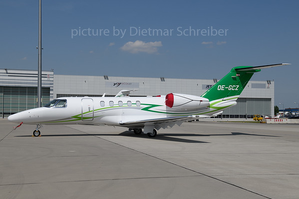 2018-05-31 OE-GCZ Cessna 525C Citationjet 4