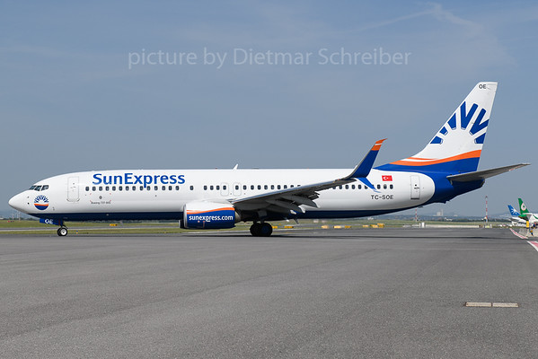2018-05-31 TC-SOE Boeing 737-800 Sunexpress