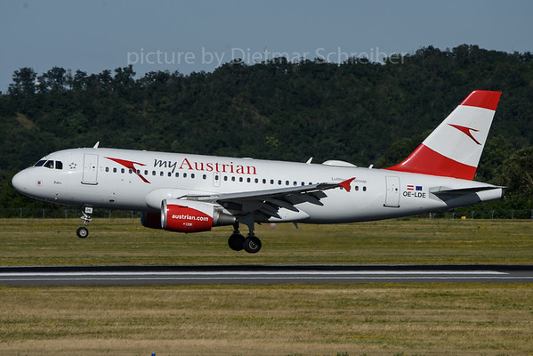 2018-06-30 OE-LDE Airbus A319 Austrian Airlines#