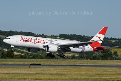 2018-06-30 OE-LPF Boeing 777-200 Austrian Airlines