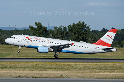 2018-06-30 OE-LBS AIrbus A320 Ausrian Airlines