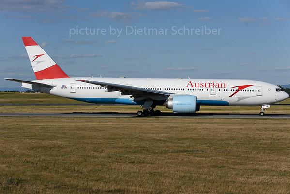 2018-06-30 OE-LPB Boeing 777-200 Austrian Airlines