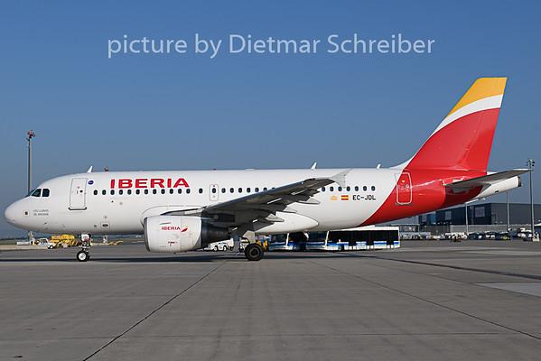 2018-07-31 EC-JDL Airbus A319 Iberia