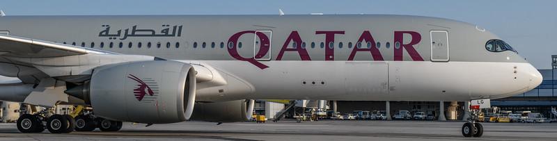 2018-08-31 A7-ALG Airbus A350-900 Qatar Airways