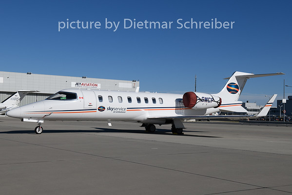 2018-10-30 C-GMCP Learjet 45 Skyservice