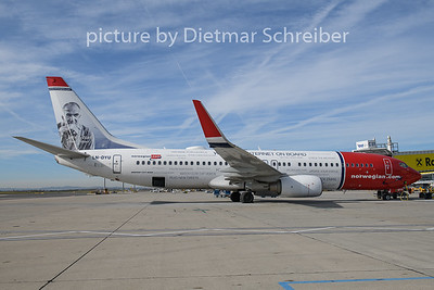 2018-10-31 LN-DYU Boeing 737-800 Norwegian